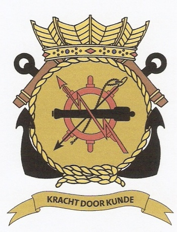 Coat of arms (crest) of the Dutch-Belgian Operational School, Netherlands Navy