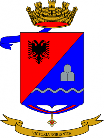 Coat of arms (crest) of the 72nd Infantry Regiment Puglie, Italian Army