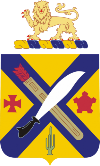 Coat of arms (crest) of the 2nd Infantry Regiment, US Army