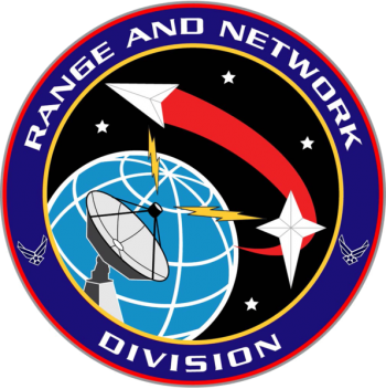 Coat of arms (crest) of the Range and Network Systems Division, US Space Force