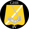 IV Battalion, The Guards Hussar Regiment, Danish Army.png