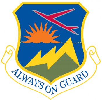 Coat of arms (crest) of the 142nd Fighter Wing, Oregon Air National Guard