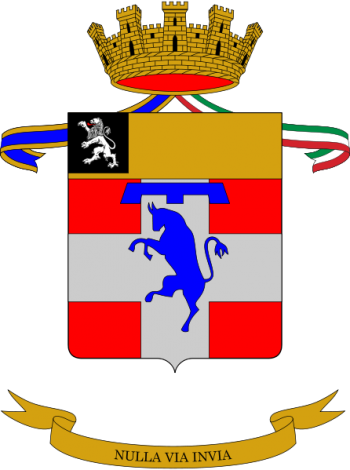Arms of 1st Mountain Artillery Regiment, Italian Army