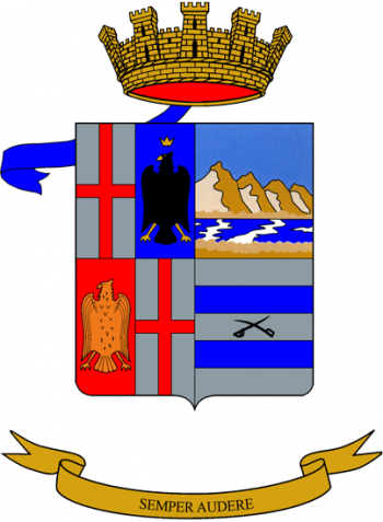 Coat of arms (crest) of the 27th Artillery Regiment, Italian Army