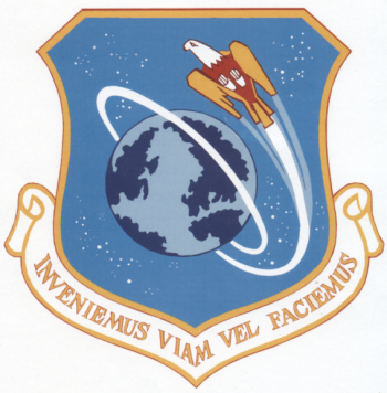 Coat of arms (crest) of the Air Force Satellite Control Facility, US Air Force