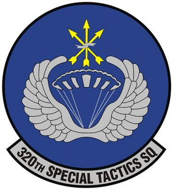Coat of arms (crest) of the 320th Special Tactics Squadron, US Air Force