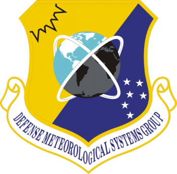 Coat of arms (crest) of the Defense Meteorological Systems Group, US Air Force