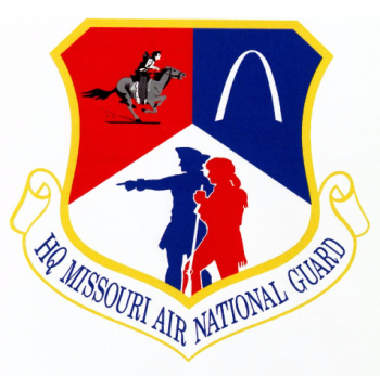 Coat of arms (crest) of the Missouri Air National Guard, US
