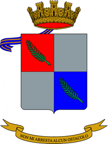 Coat of arms (crest) of the Vittorio Veneto Logistics Battalion, Italian Army