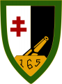 165th Position Artillery Regiment, French Army.png