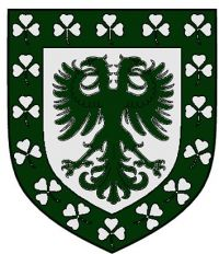 Arms of McGlinn Hall, University of Notre Dame