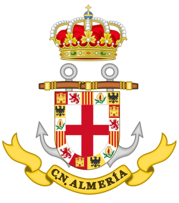 Coat of arms (crest) of the Naval Command of Almeria, Spanish Navy