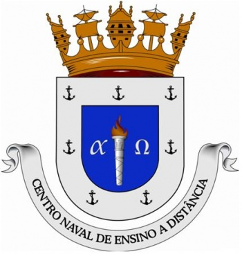 Coat of arms (crest) of the Naval Distance Eduaction Center, Portuguese Navy