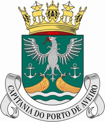 Coat of arms (crest) of the Harbour Captain of Aveiro, Portuguese Navy