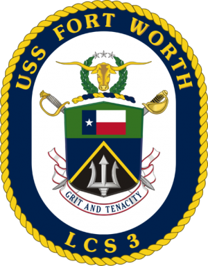 Arms of Littoral Combat Ship USS Fort Worth (LCS-3)