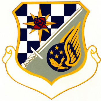 Coat of arms (crest) of the Pacific Special Activities Area, US Air Force