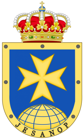 Coat of arms (crest) of the Operative Health Command, Spain