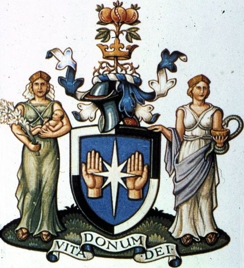 Arms of Royal College of Midwives