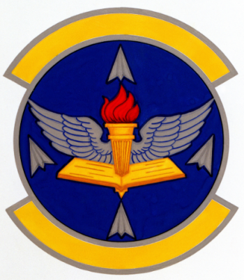 Coat of arms (crest) of the 3305th Student Squadron, US Air Force