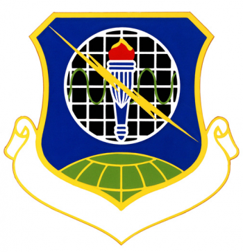 Coat of arms (crest) of the 3410th Technical Training Group, US Air Force