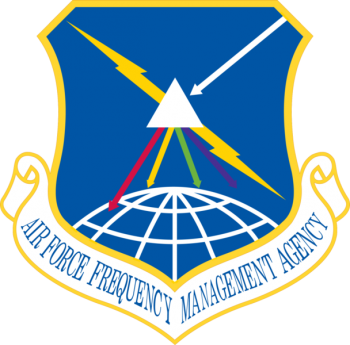 Coat of arms (crest) of the Air Force Frequency Management Agency, US Air Force