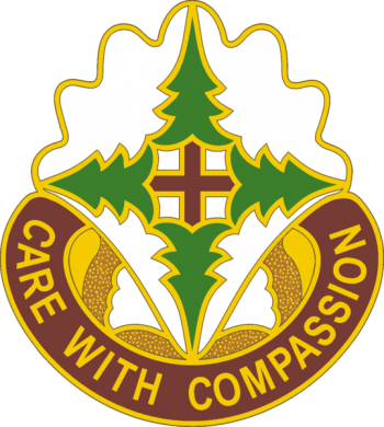 Coat of arms (crest) of the Madigan Army Medical Center, US Army