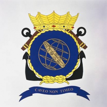 Coat of arms (crest) of the Zr.Ms. Urania, Netherlands Navy