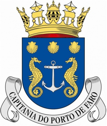 Coat of arms (crest) of the Harbour Captain of Faro, Portuguese Navy