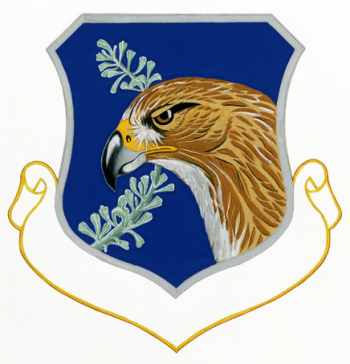 Coat of arms (crest) of the Nevada Air National Guard, US