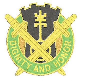 Arms of 391st Military Police Battalion, US Army
