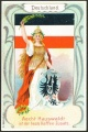 Arms, Flags and Folk Costume trade card Deutschland