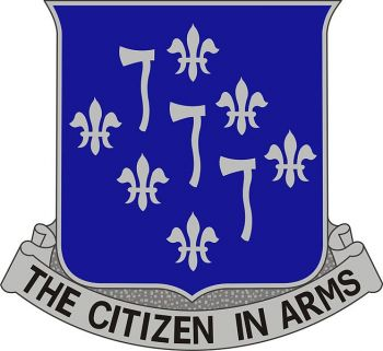 Arms of 333rd (Infantry) Regiment, US Army