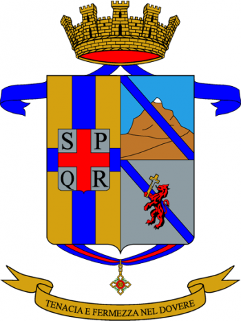 Coat of arms (crest) of the 46th Infantry Regiment Reggio, Italian Army
