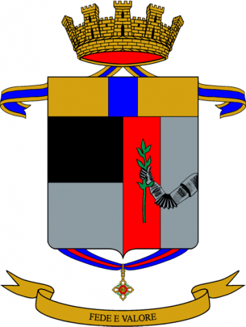 Coat of arms (crest) of the 48th Infantry Regiment Ferrara, Italian Army