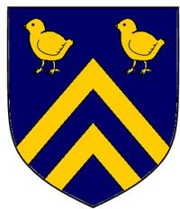 Arms of Lewis Hall, University of Notre Dame