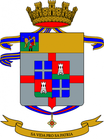 Coat of arms (crest) of the 151st Infantry Regiment Sassari, Italian Army