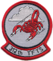 312th Tactical Fighter Training Squadron, US Air Force.png