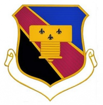 Coat of arms (crest) of the 837th Air Division, US Air Force