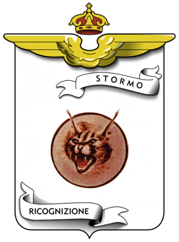 Coat of arms (crest) of the 19th Reconnaissance Wing, Regia Aeroanutica