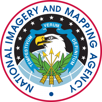 Coat of arms (crest) of the National Imagery and Mapping Agency, US