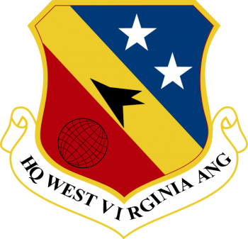 Coat of arms (crest) of the West Virginia Air National Guard