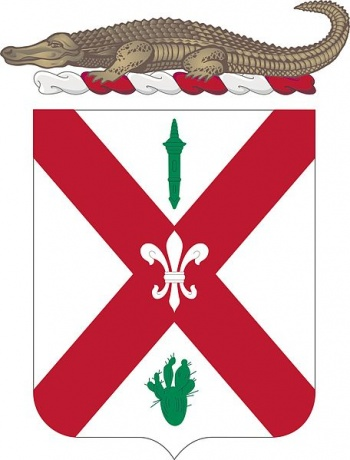 Coat of arms (crest) of the 124th Infantry Regiment, Florida Army National Guard