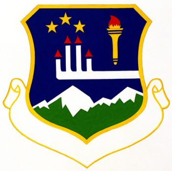 Coat of arms (crest) of the 3460th Technical Training Group, US Air Force
