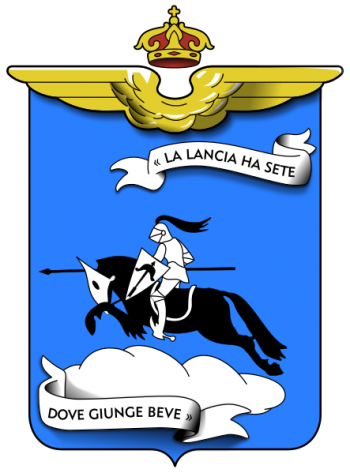 Coat of arms (crest) of the 8th Fighter Wing, Regia Aeronautica