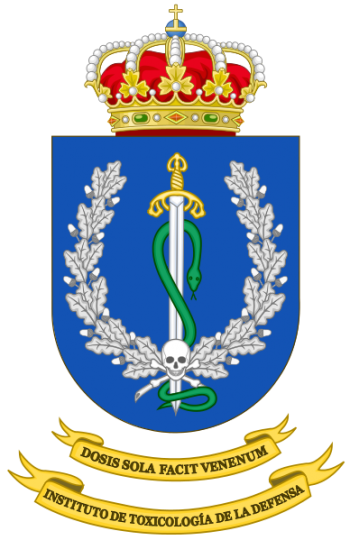 Coat of arms (crest) of the Defence Institute of Toxicology, Spain