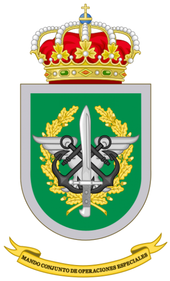 Coat of arms (crest) of the Joint Special Operations Command, Spain