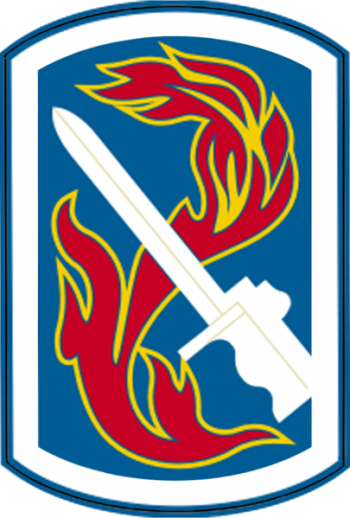 Arms of 198th Infantry Brigade, US Army