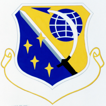 Coat of arms (crest) of the 27th Combat Support Group, US Air Force