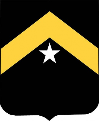 Coat of arms (crest) of the 743rd Tank Battalion, US Army