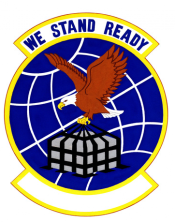Coat of arms (crest) of the 91st Aerial Port Squadron, US Air Force
